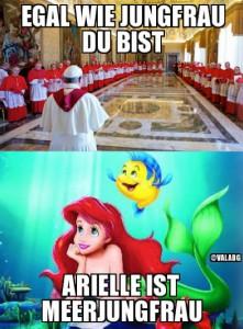 Arielle ist Meerjungfrau