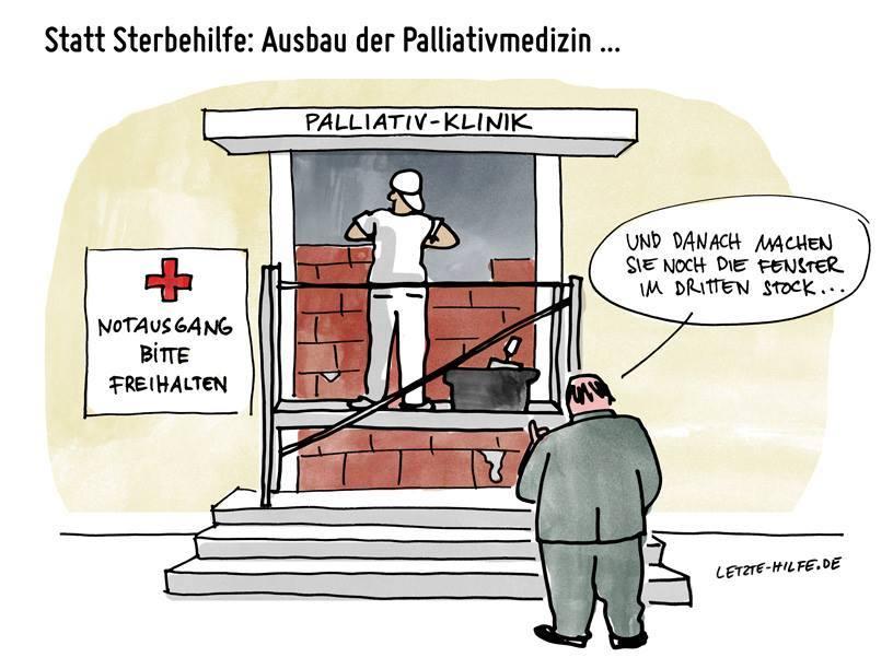 Ausbau der Palliativ-Medizin