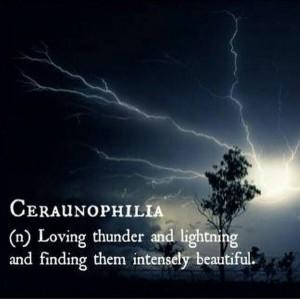 Ceraunophilie