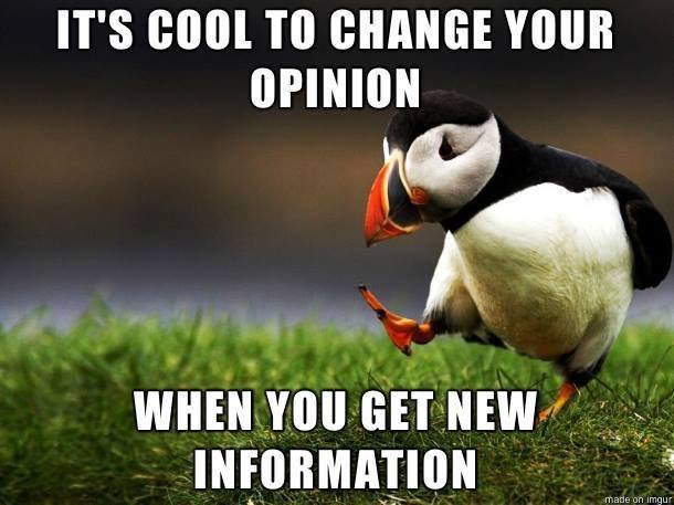 Changing Opinion
