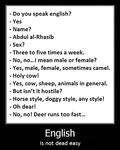 English-is-not-dead-easy