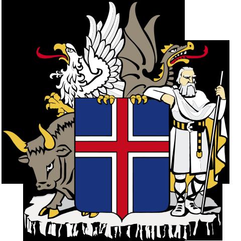 Island-Wappen