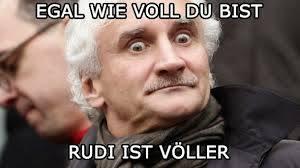 Rudi ist Völler